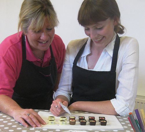 During your professional chocolate experience we will teach you how to make your very own handmade chocolates
